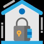 lock box icon - online real estate litigation lawyer toronto
