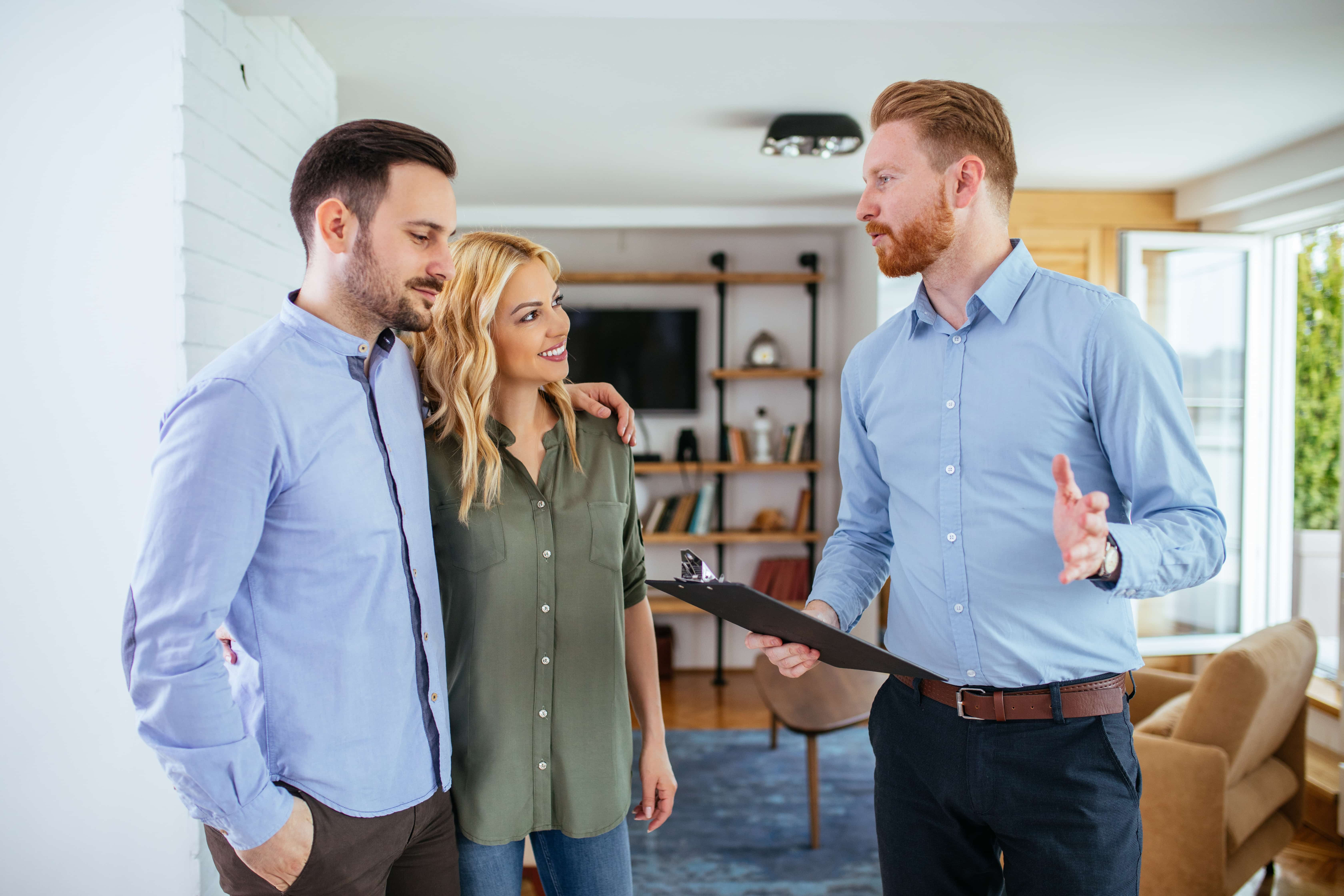 photo of couple getting Home Inspection - lawyers for real estate